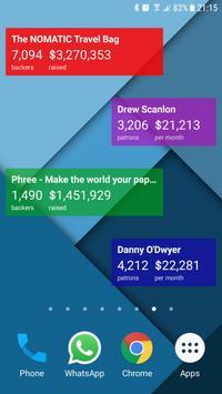 Crowdfund Tracker Widget apk screenshot