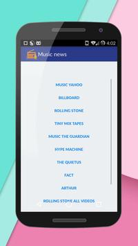 Music News apk screenshot