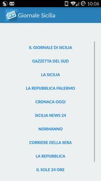 Giornale Sicilia poster