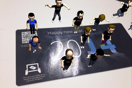 New Year 2014 poster