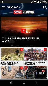 VTM NIEUWS poster