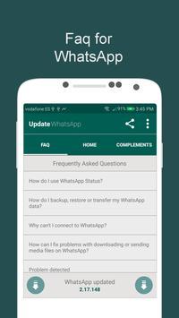 Update WhatsApp FAQ screenshot 1