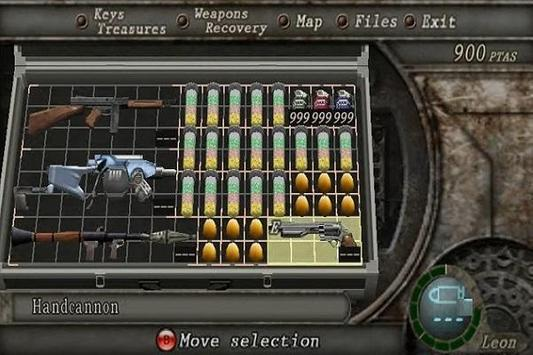 New Resident Evil 4 Cheat poster