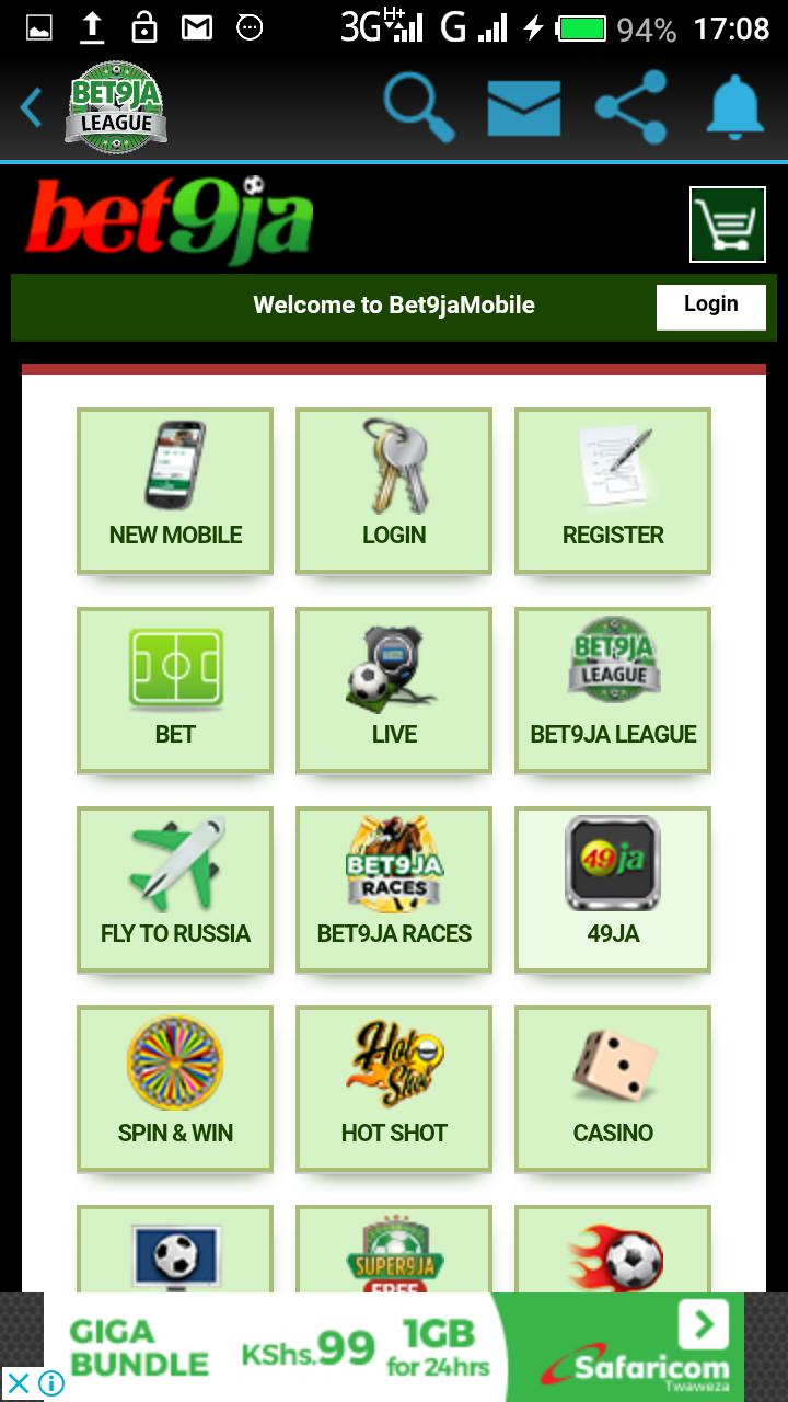 BET9JA for Android - APK Download