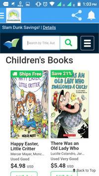 Better World Books apk screenshot