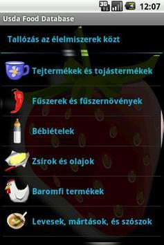 Usda Food Database apk screenshot