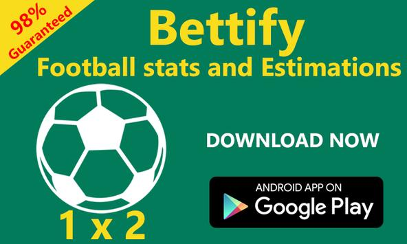 Bettify - Betting Tips Expert poster