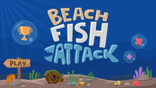 Beach Fish Attack poster