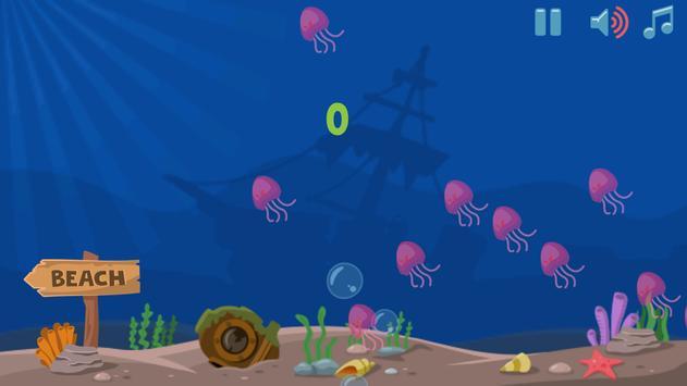 Beach Fish Attack screenshot 1