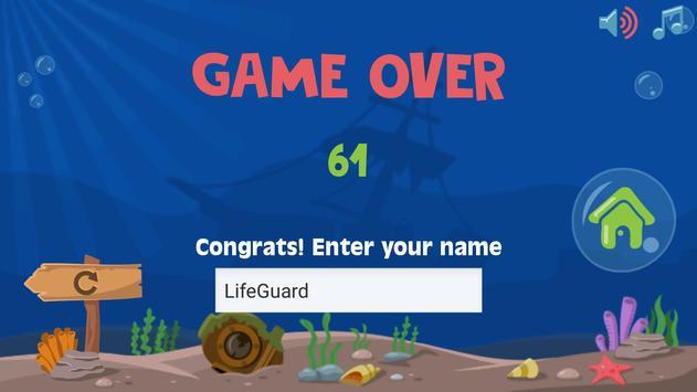 Beach Fish Attack screenshot 2