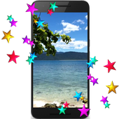 Beach HD Video LWP icon
