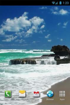 Beach Sea Live Wallpaper screenshot 1