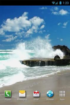 Beach Sea Live Wallpaper screenshot 2