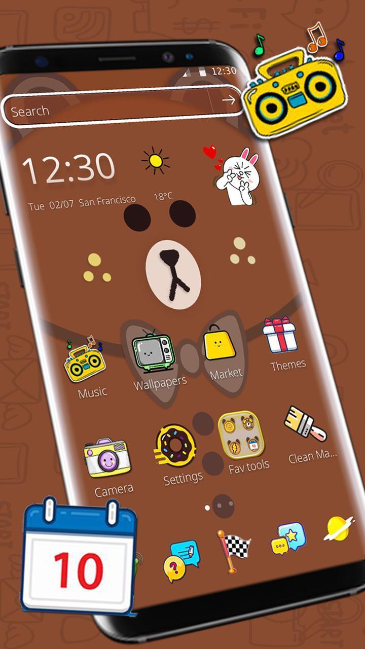 Download 5400 Wallpaper Lucu Coklat Gratis Terbaru