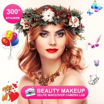 Beauty Makeup - Selfie Makeover Camera Lab screenshot 3