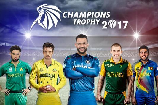 Champion Trophy DP Maker 2017 poster