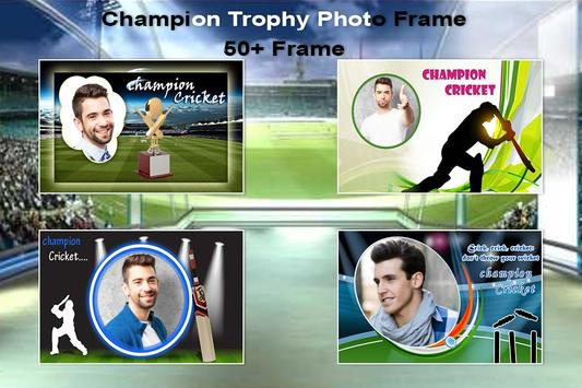 Champion Trophy Photo Frame-2017 poster