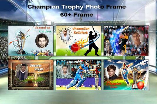 Champion Trophy Photo Frame-2017 screenshot 1