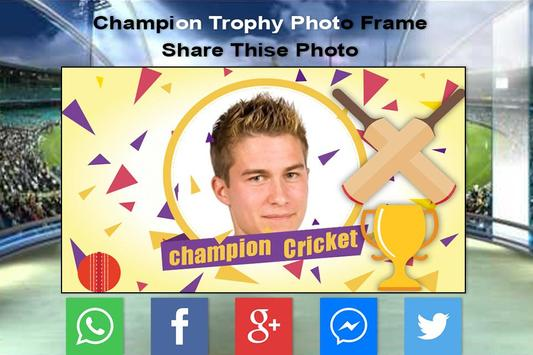 Champion Trophy Photo Frame-2017 screenshot 4