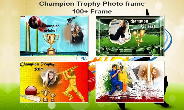 Champion Trophy Photo Frame poster