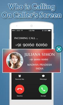 Caller ID Name & Location : Live Mobile Caller ID screenshot 1