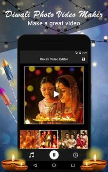 Diwali Photo Video Maker poster
