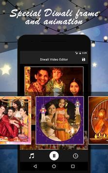 Diwali Photo Video Maker screenshot 1