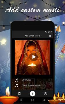 Diwali Photo Video Maker screenshot 2