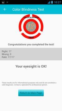 Color Blind Test poster