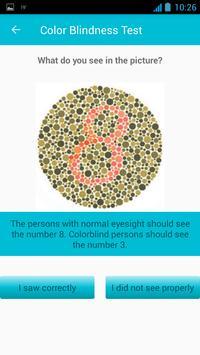 Color Blind Test screenshot 1
