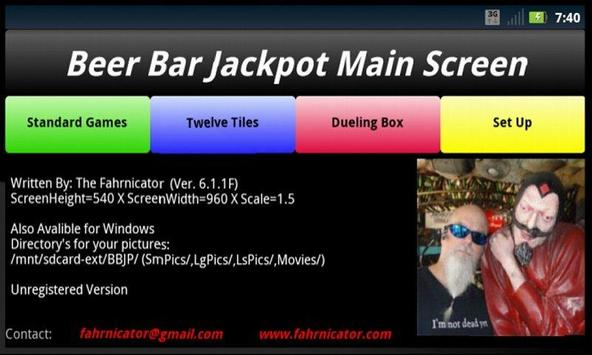 BeerBarJackpotLite poster