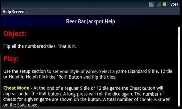BeerBarJackpotLite screenshot 6