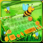 Bees keyboard Theme icon