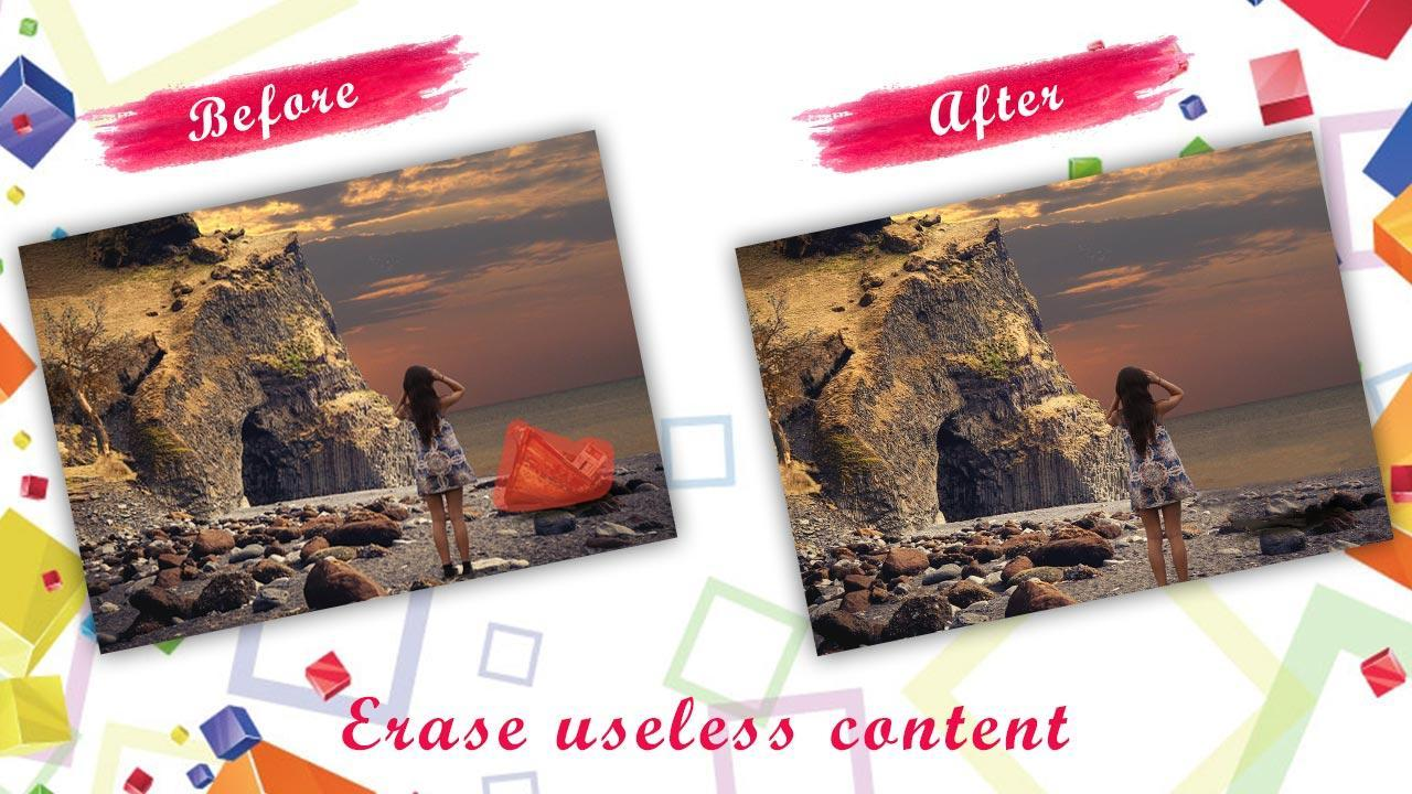 Remove Unwanted Content - Image Inpainting for Android - APK
