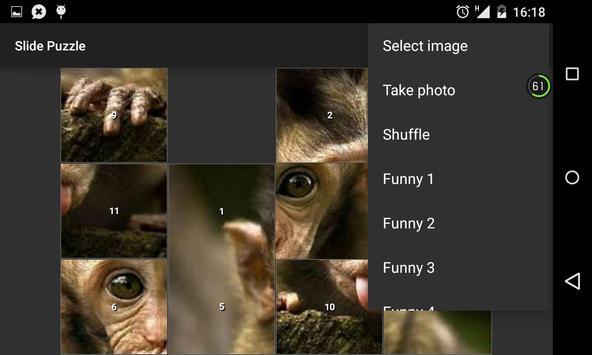 Slide Puzzle Game apk screenshot