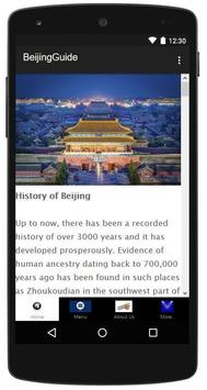 Beijing Travel Guide poster