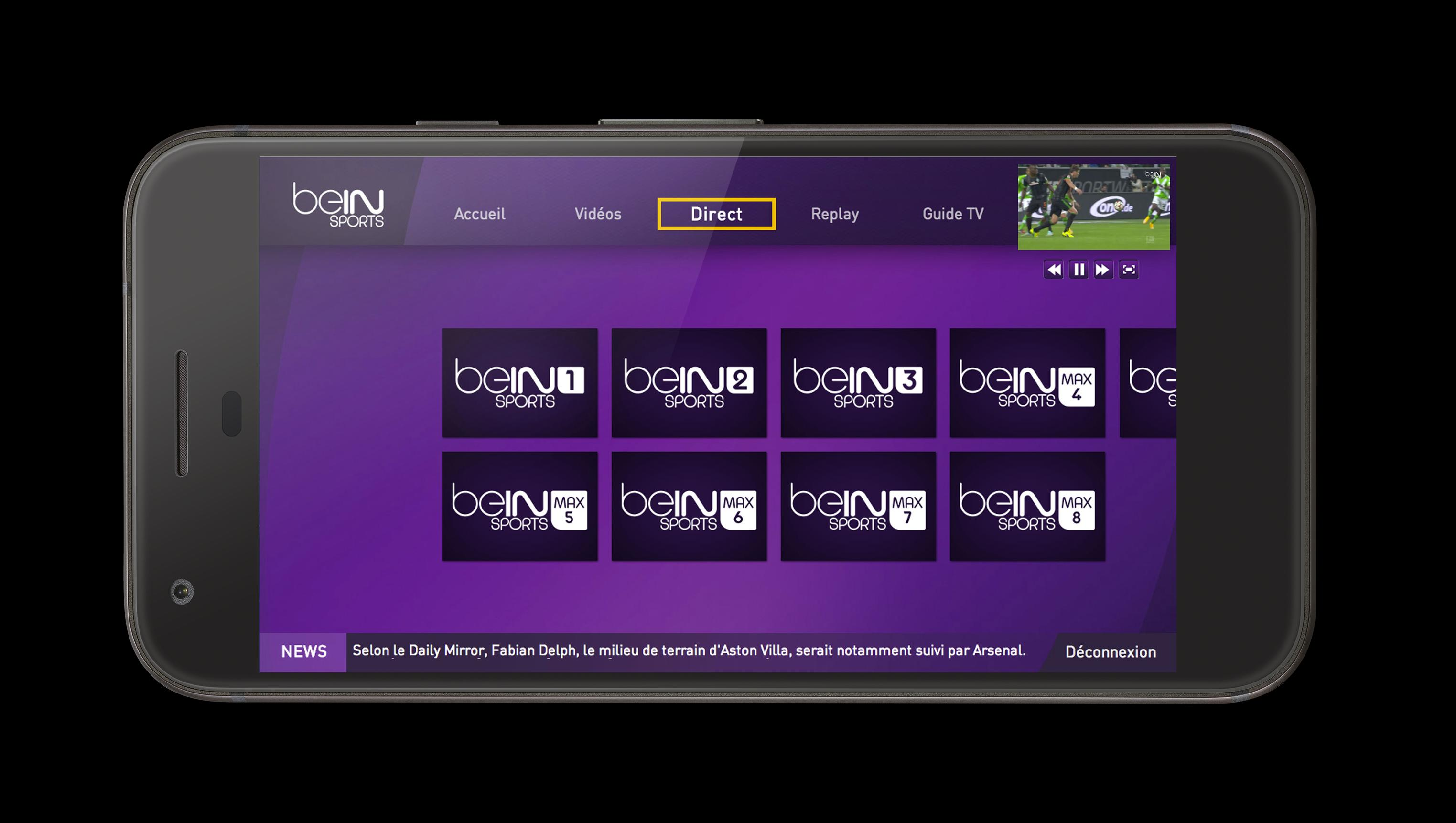 Bein Sports Live Tv For Android Apk Download