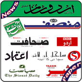 Urdu Newspapers All Daily News Paper icon