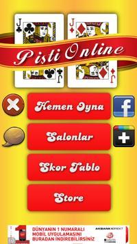 Pişti Online apk screenshot