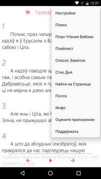 Belorussian Bible + Full Audio Bible screenshot 4