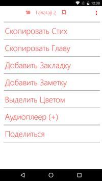 Belorussian Bible + Full Audio Bible screenshot 2
