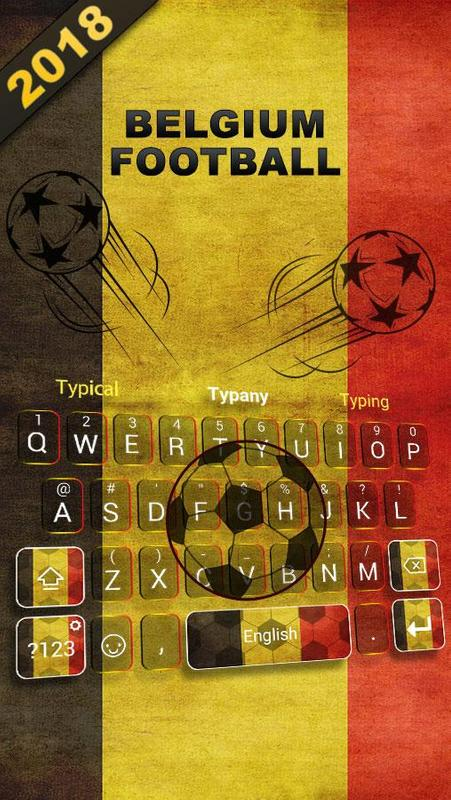 Belgia 2018 Football Keyboard Theme For Android Apk Download