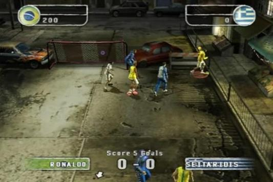 Trick FIFA Street 2 screenshot 1