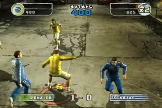 Trick FIFA Street 2 screenshot 5
