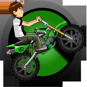 Ben motorbike Jungle Race icon