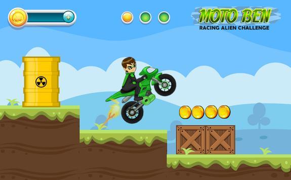 Moto Ben Racing Alien Challenge poster