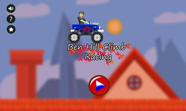Ben Hill Climb Racing poster
