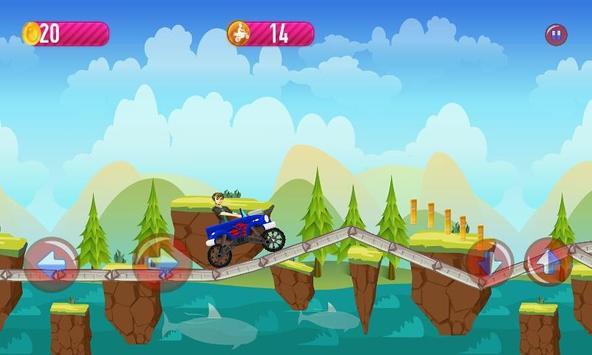 Ben Hill Climb Racing apk screenshot
