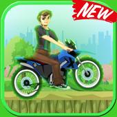 Ben Jungle Motorbike Race icon