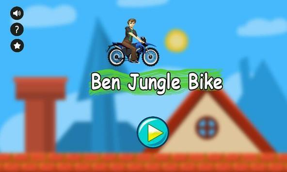 Ben Jungle Motorbike Race poster